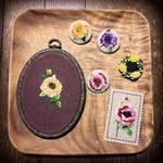 NHKすてきにハンドメイド「ふんわり刺しゅうで花のブローチ」の作り方を動画でおさらい&再放送情報も!