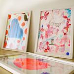 アートを飾って、シンプルな部屋に洗練されたインパクトを♪