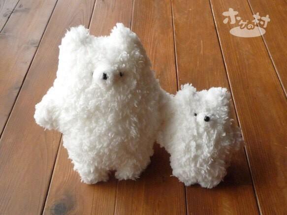 ふわふわホゲぬいぐるみ・大(ホワイト)|人形・ぬいぐるみ|ハンドメイド通販・販売のCreema (154)