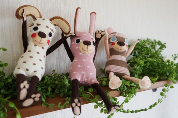 SOCKY イヌ・ウサギ・クマ|人形・ぬいぐるみ|ハンドメイド通販・販売のCreema (169)