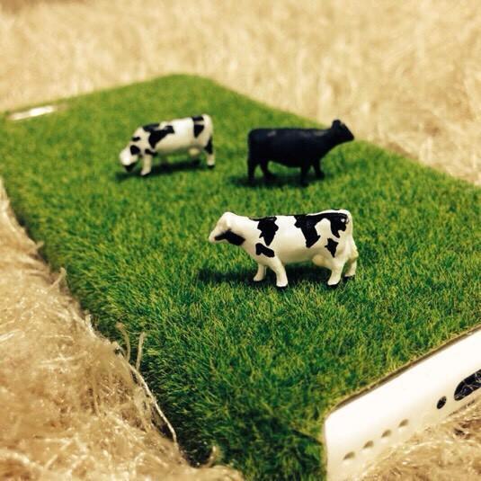 芝生のモバイルケース 牛さん|iPhoneケース・スマホ|ハンドメイド通販・販売のCreema (189)