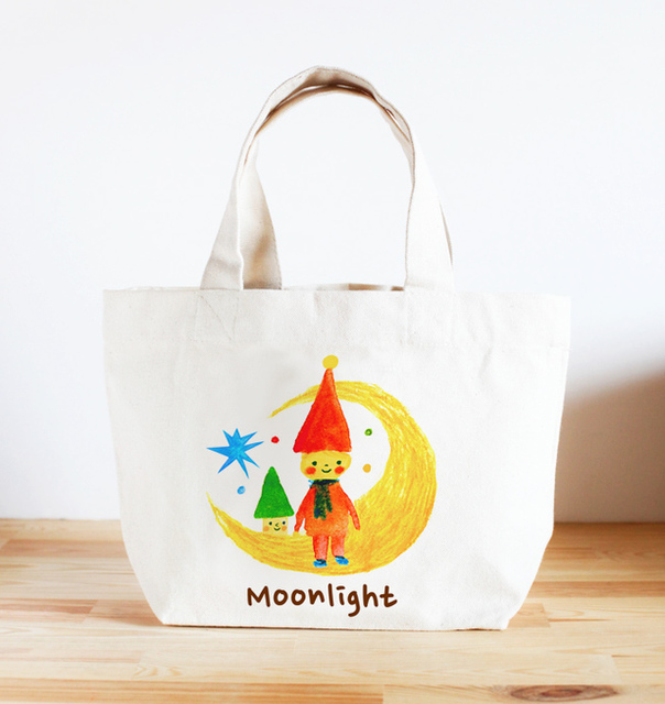 名前が入れられるキッズトートバッグ(Moonlight) by 杉浦智史 ベビー・キッズ キッズ服・小物 | ハンドメイドマーケット minne(ミンネ) (269)