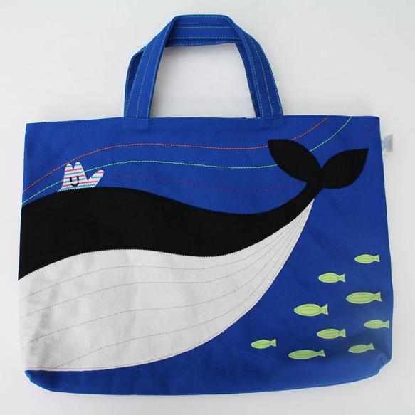 レッスンバッグ オリジナルデザイン「くじらの海」|レッスンバッグ・ケース|ハンドメイド通販・販売のCreema (286)