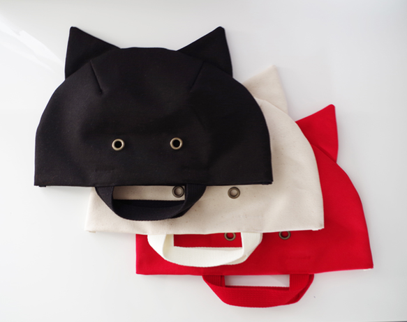 【CAT TOTE 】 黒・Sサイズ|トートバッグ|ハンドメイド通販・販売のCreema (332)