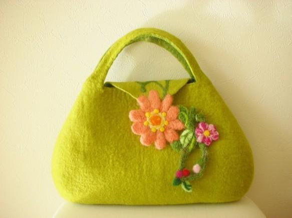 花モチーフ バッグ|トートバッグ|ハンドメイド通販・販売のCreema (335)