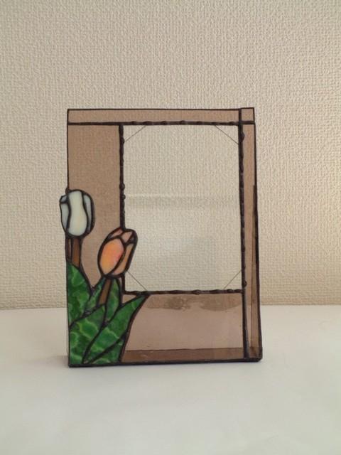 ステンドグラスチューリップの写真立て|フォトフレーム・写真立て|ハンドメイド通販・販売のCreema (347)