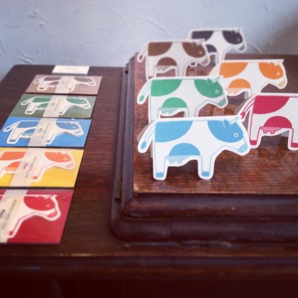 牛のメッセージカード2色セット|メッセージカード|ハンドメイド通販・販売のCreema (367)