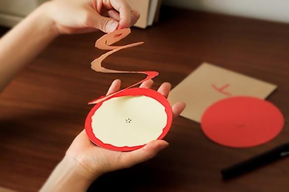剥きりんごのカード|メッセージカード|ハンドメイド通販・販売のCreema (370)