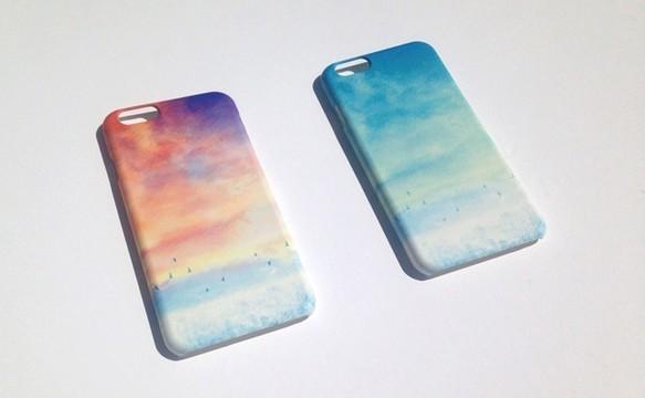 iPhone6Plus Case「青い、空」 *受注制作|iPhoneケース・スマホ|ハンドメイド通販・販売のCreema (569)