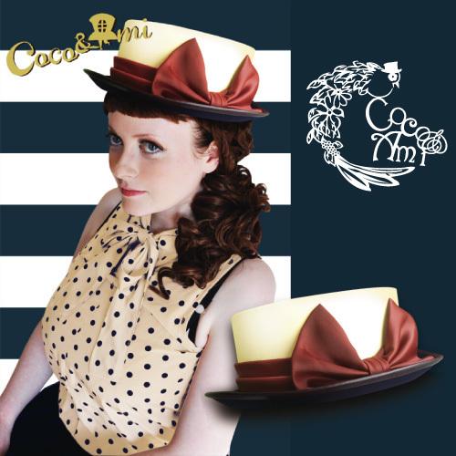 マリリン、君に虜ロール  by Coco&Ami(こことあみ) ファッション 帽子 | ハンドメイドマーケット minne(ミンネ) (819)
