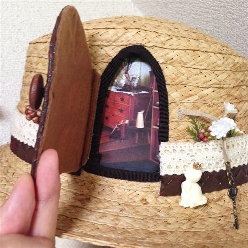 Oh~家~ィ(ベージュ)  by Coco&Ami(こことあみ) ファッション 帽子 | ハンドメイドマーケット minne(ミンネ) (826)