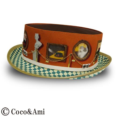 【絵柄が変わる!】ご試着ド~ゾ~/オレンジ by Coco&Ami(こことあみ) ファッション 帽子 | ハンドメイドマーケット minne(ミンネ) (837)