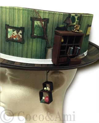 一つ屋根の下~そこに愛はあるのかい?~ by Coco&Ami(こことあみ) ファッション 帽子 | ハンドメイドマーケット minne(ミンネ) (854)