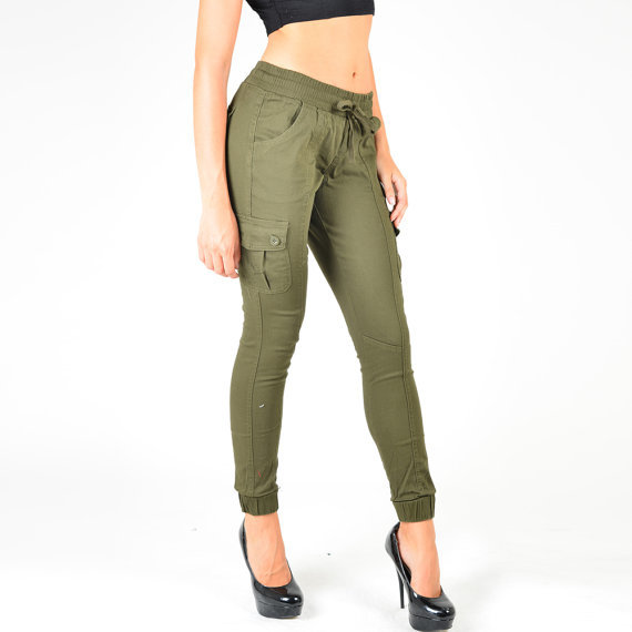 Etsy の Women's Cargo Jogger Pants by REDFOXWEAR (873)