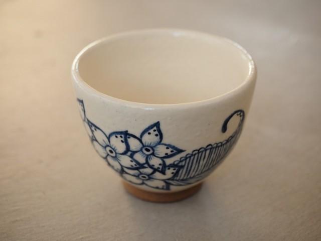 紺色のお花のカップ 43 作品詳細 | BasiL | ハンドメイド通販 iichi(いいち) (985)
