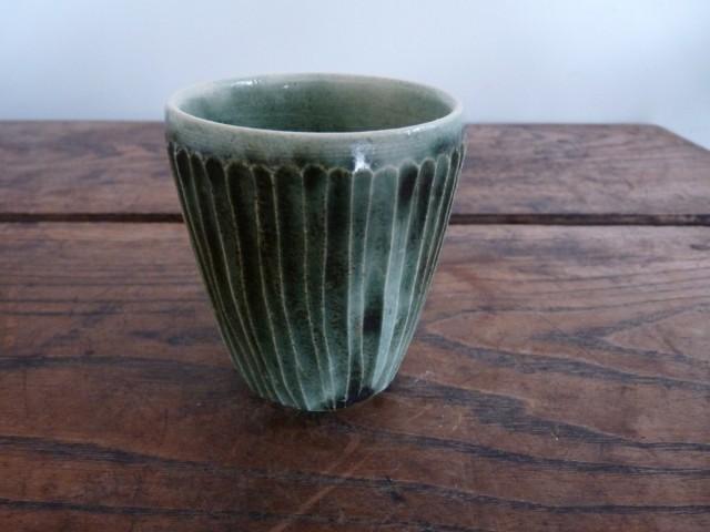 そぎそぎカップオリベ 作品詳細 | Tukikage陶窯 | ハンドメイド通販 iichi(いいち) (988)