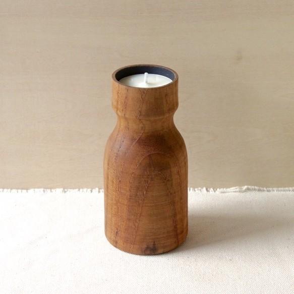 木のキャンドルホルダー(チーク)|キャンドル|ハンドメイド通販・販売のCreema (1377)