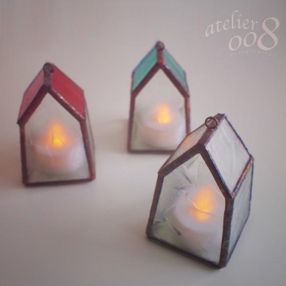 ちいさいおうちのちいさい灯り(クリアー)|ライト・ランプ|ハンドメイド通販・販売のCreema (1385)