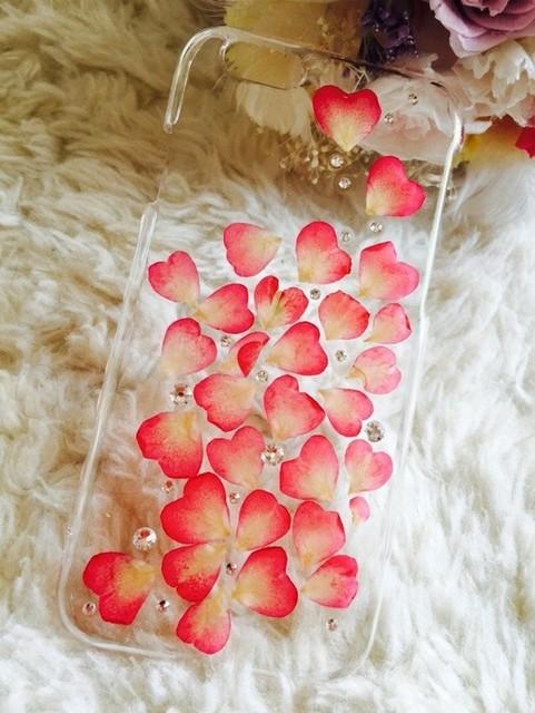 本物のお花 バラの花びらiPhone6 6sケース ラインストーン入りオーダーメイド 再販|iPhoneケース・スマホ|ハンドメイド通販・販売のCreema (1405)