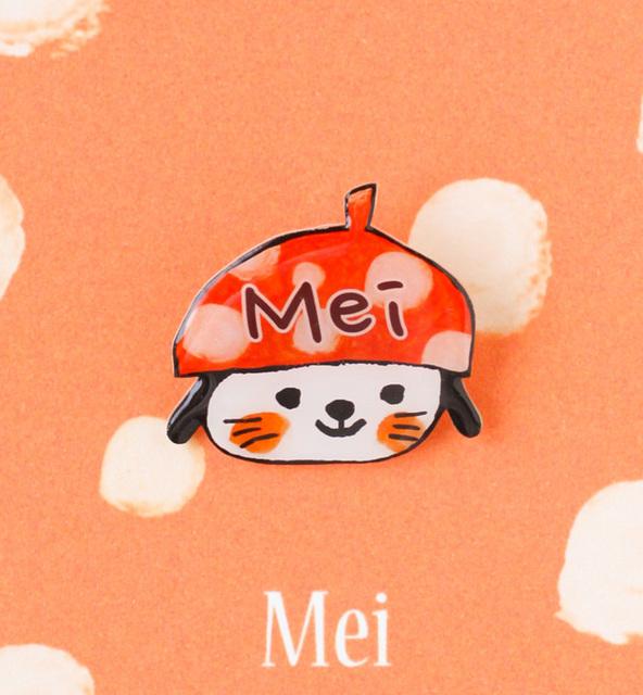 お名前が入れられるブローチ(犬ちゃん) by 杉浦智史 ベビー・キッズ キッズ服・小物 | ハンドメイドマーケット minne(ミンネ) (1608)