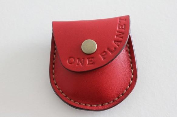 手縫いのコインケース / koron レッド ONE PLANET|コインケース・小銭入れ|ハンドメイド通販・販売のCreema (1647)