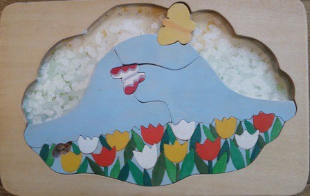 木製パズル「はなちゃんのお昼寝」|おもちゃ・人形|ハンドメイド通販・販売のCreema (1726)