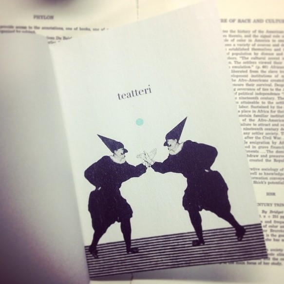 ZINE 「teatteri」|その他|ハンドメイド通販・販売のCreema (1858)