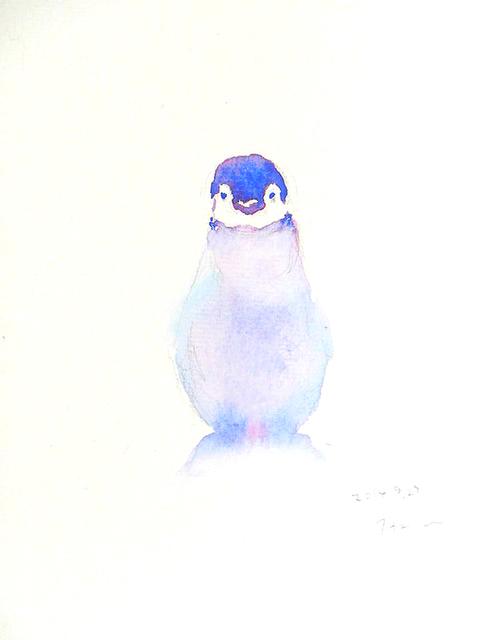 小さな水彩画~ちょっとかわいい動物たちのポストカード~(2枚セット) by h-hatori アート・写真 イラスト  ハンドメイドマーケット minne(ミンネ) (2600)