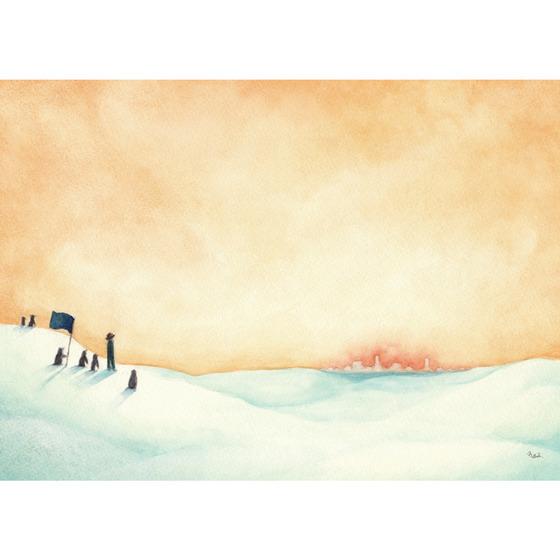 ポストカード ポストカード [遠い街の灯] - タナボタの作品 - タナボタ - 東急ハンズのハンズ・ギャラリー マーケット (2603)