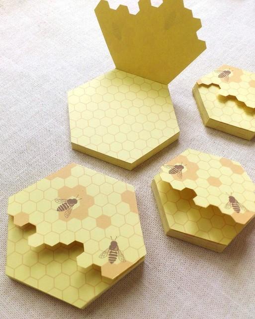 蜜蜂メモ|メモ帳・ノート|ハンドメイド通販・販売のCreema (2611)
