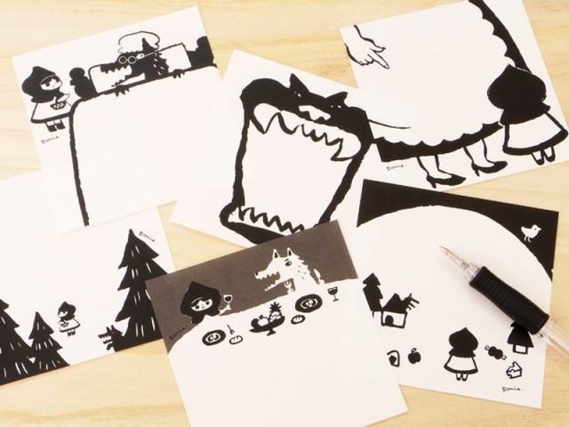 絵本なメモ帳「赤ずきん」 作品詳細  ponie  ハンドメイド通販 iichi(いいち) (2619)