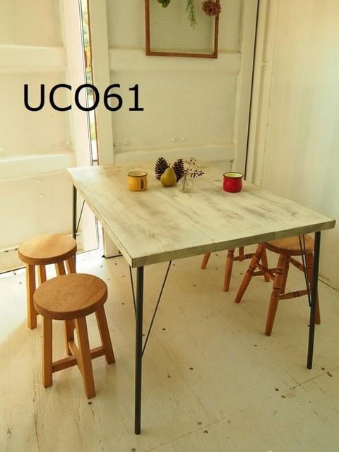 アイアン脚 ダイニングテーブル 【1200×800】(シャビー)|テーブル・デスク|ハンドメイド通販・販売のCreema (2932)