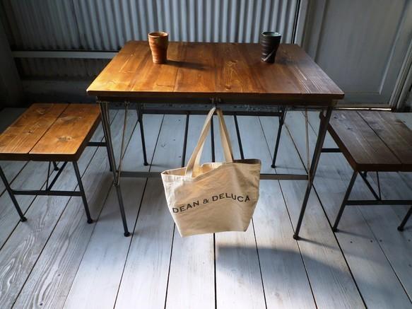 アイアン・ウッドカフェテーブル|テーブル・デスク|ハンドメイド通販・販売のCreema (2934)