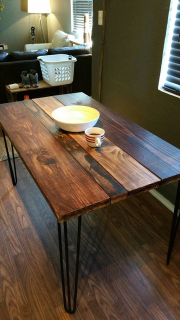 Etsy の Multistain Industrial Dining Table by 512Tables (2946)