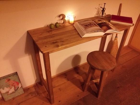 ワークテーブル【ブラウン】W100×D36×H70|テーブル・デスク|ハンドメイド通販・販売のCreema (2950)