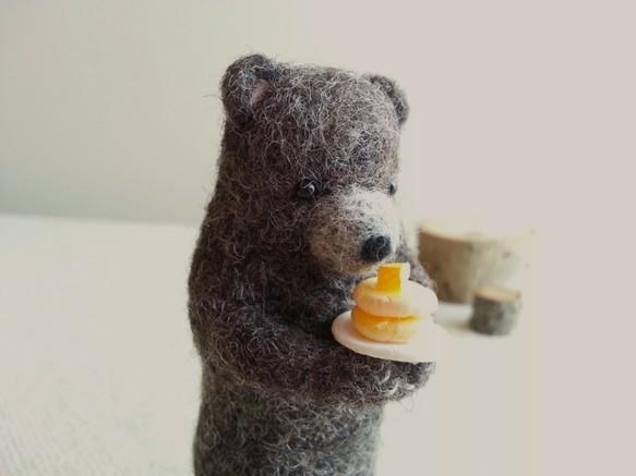 ホットケーキ焼けたよ♪クマの子。|人形・ぬいぐるみ|ハンドメイド通販・販売のCreema (3511)