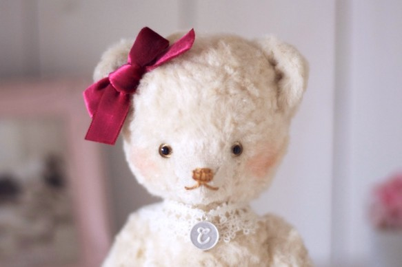 リボンとイニシャルが選べるセミオーダーベア♪|人形・ぬいぐるみ|ハンドメイド通販・販売のCreema (3514)