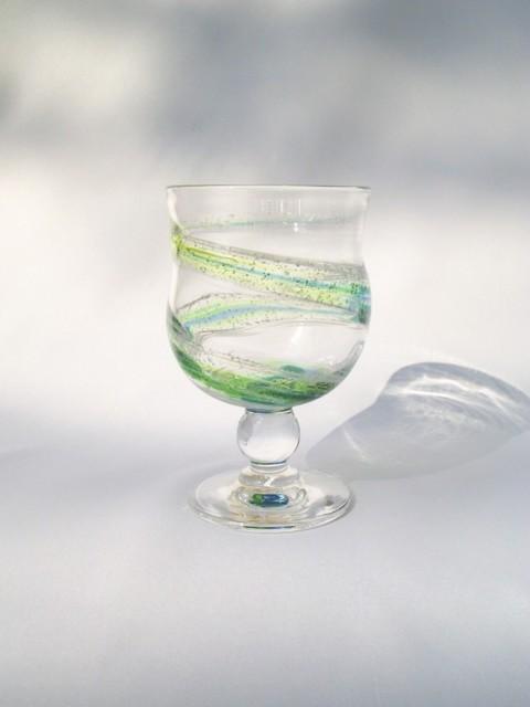 色雲母和飲グラス 作品詳細 | がらす屋 | ハンドメイド通販 iichi(いいち) (3586)