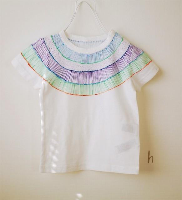 しましま襟  ▲シマ×ツブ|子供服|ハンドメイド通販・販売のCreema (4400)
