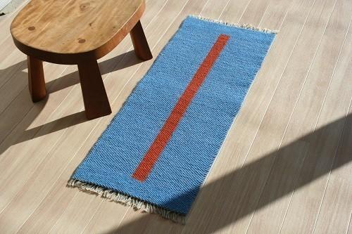 北欧手織りマット 作品詳細 | フィンランディア | ハンドメイド通販 iichi(いいち) (4508)