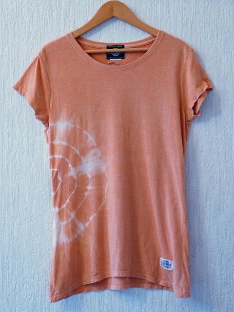 バンブーオーガニックコットン/ベンガラ染-橙-月と星|Tシャツ・ポロシャツ|ハンドメイド通販・販売のCreema (4598)