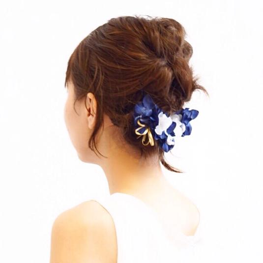 flower accessory by tulip アクセサリー ヘアアクセサリー | ハンドメイドマーケット minne(ミンネ) (4795)