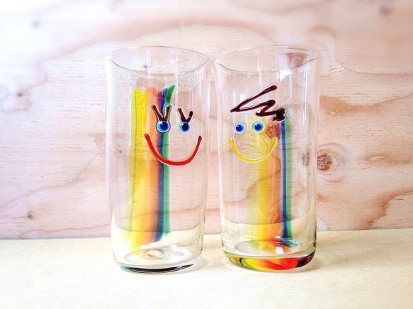 受注制作/虹色 Girl タンブラー|グラス|ハンドメイド通販・販売のCreema (4915)