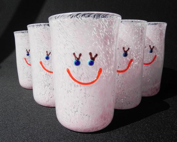 Smile Glass Girl/ピンク|グラス|ハンドメイド通販・販売のCreema (4916)