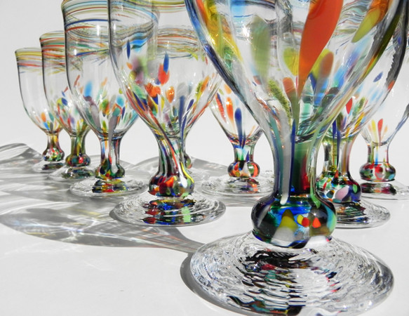 Rainbowゴブレット|グラス|ハンドメイド通販・販売のCreema (4918)