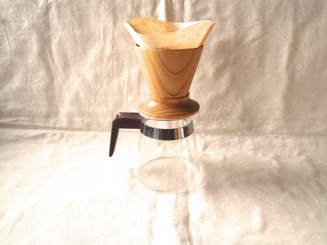 【受注制作】森のクマさんカフェからWood Dripper 作品詳細 | cafecafe | ハンドメイド通販 iichi(いいち) (4935)