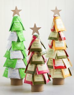 DIY: christmas tea trees | Holiday Treats | Pinterest | DIY, Diy Christmas and Teas (5270)