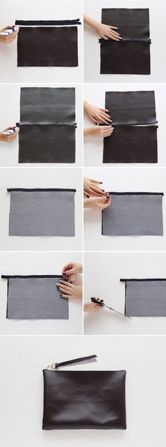 DIY This No-Sew Clutch in 8 Simple Steps | Brit + Co (5548)