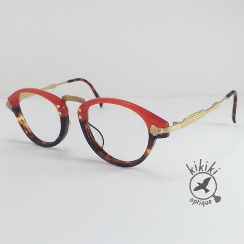 ガーリーなメガネ(red×bekko)|メガネ|ハンドメイド通販・販売のCreema (5859)