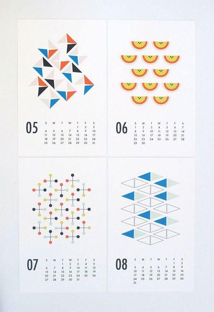 デザインが素敵!クリエイティブな2014年カレンダーデザイン20個まとめ (6588)